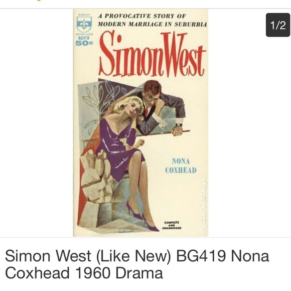 Vintage Other - 1958 Simon West Nona Coxhead Coffee Table Book